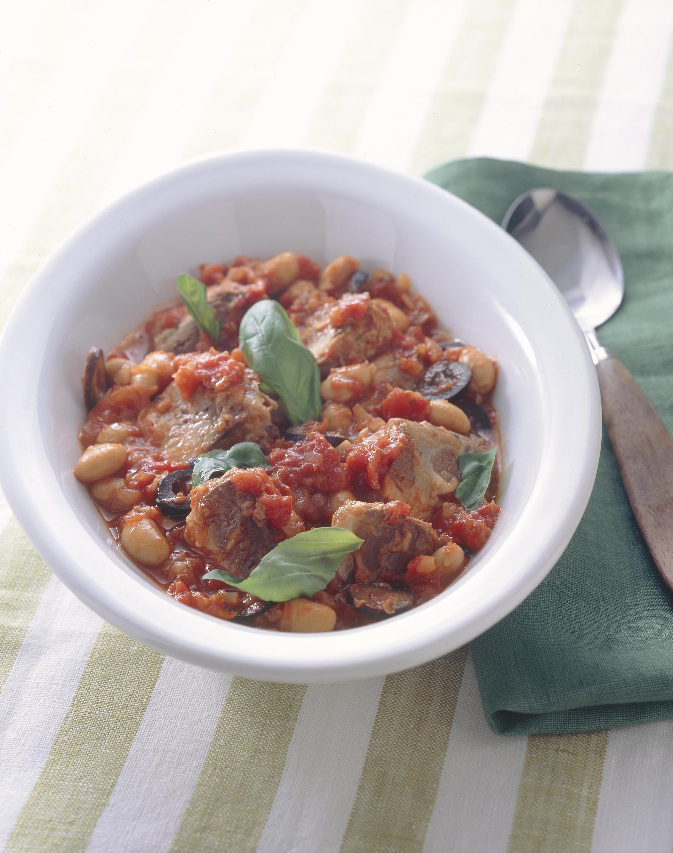 いわしと大豆のトマト煮